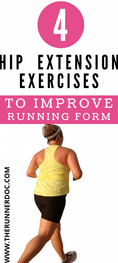 Hip extension exercises for running injury prevention. improve running form with hip extension exercises and become a faster runner.