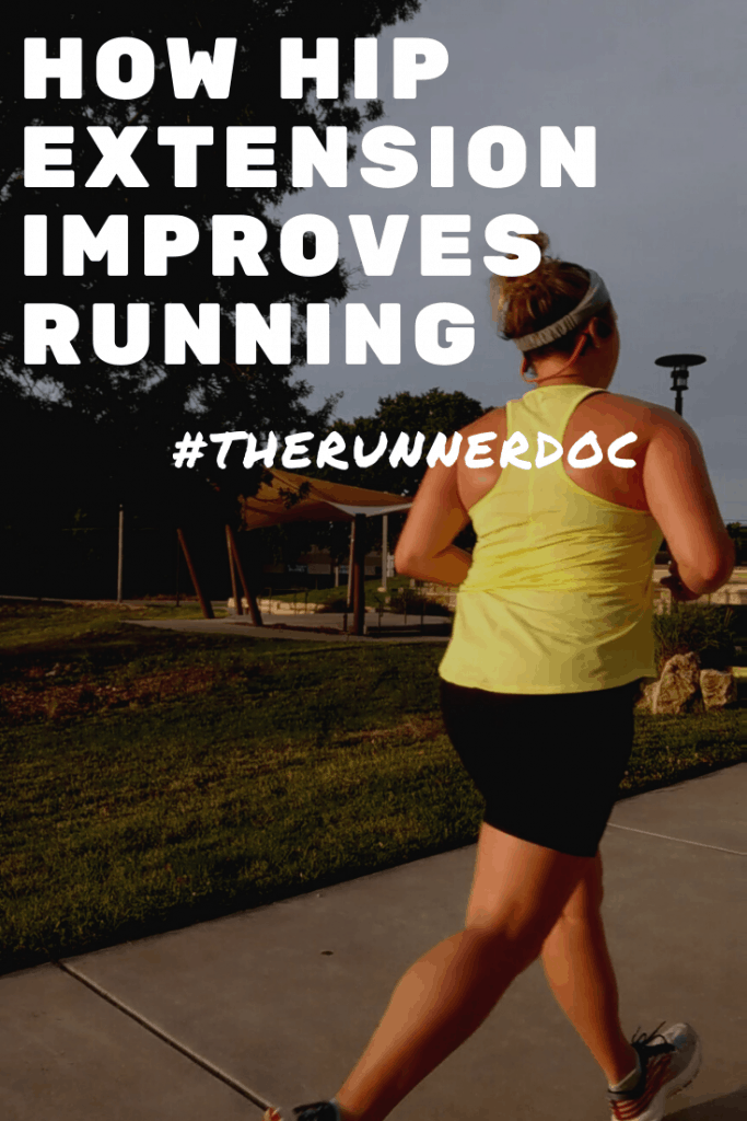 How to Improve Hip Extension for Powerful Running.   running strength   injury prevention for runners   Running tips   running plans   strength training for runners   physical therapy for runners   running for beginners  