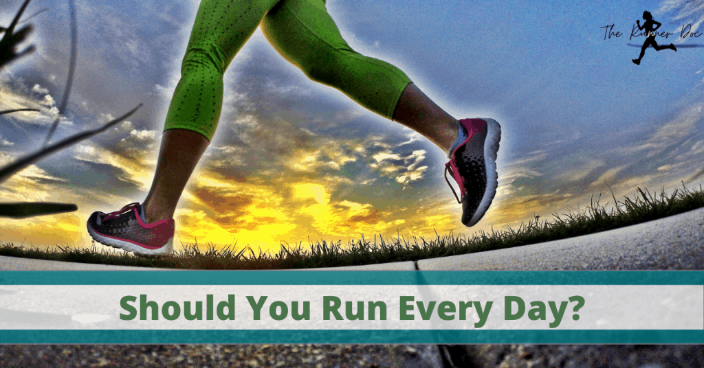 Should you run everyday? Pros and cons of doing a run streak and running every day. | Run | Runner | Running tips | beginner runner | Run Training | Run Streak |