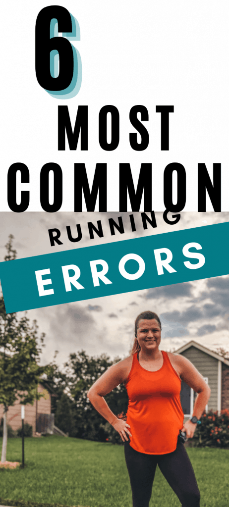 common training errors and mistakes the runners make that cause injury