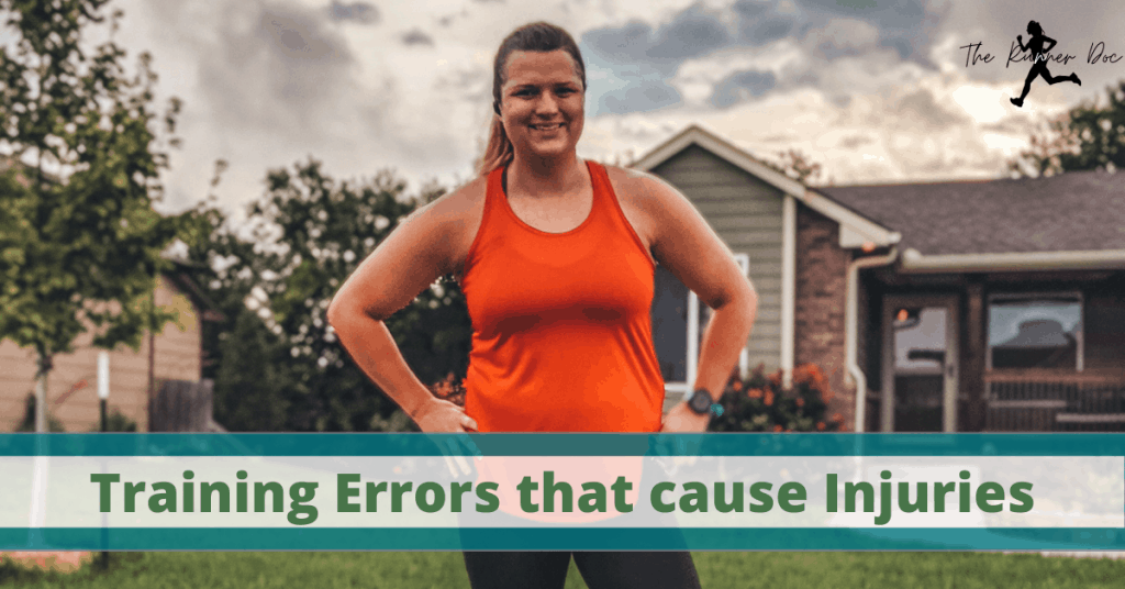Common training errors and mistakes that runners make that cause injuries