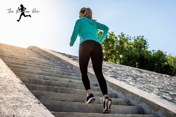 running up stairs too much can cause achilles tendinosis