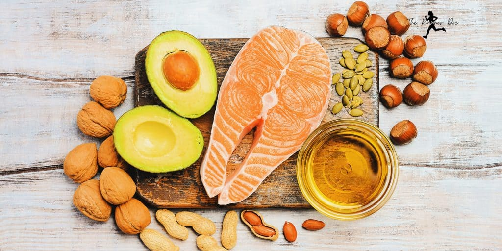 Sources of omega-3 fatty acids for runners that are injured. Nutrition for the injured runner. how to eat if you have a running injury